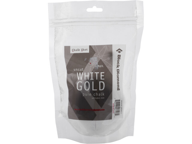 Black Diamond White Gold Chalk Shot Refillable 50g